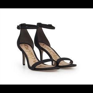 Sam Edelman Black Strappy Sandals